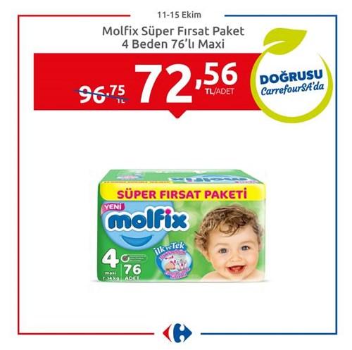 Molfix Süper Fırsat Paket 4 Beden 76'lı Maxi image