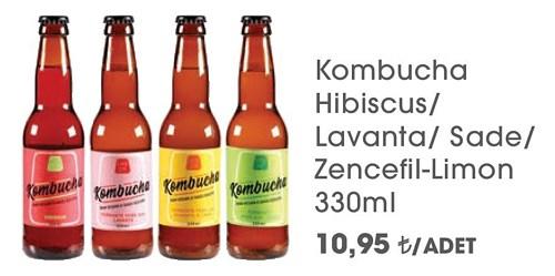 Kombucha Hibiscus/Lavanta/Sade/Zencefil-Limon 330ml image