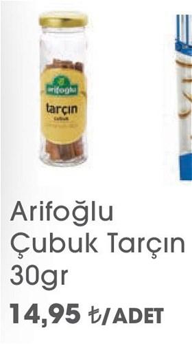 Arifoğlu Çubuk Tarçın 30gr image