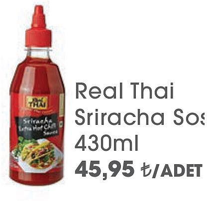 Real Thai Sriracha Sos 430ml image