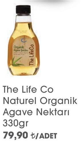 The Life Co Naturel Organik Agave Nektarı 330gr image