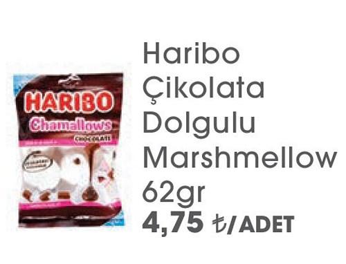 Haribo Çikolata Dolgulu Marshmellow 62gr image