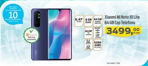 Migros Xiaomi Mi Note 10 Lite 64 GB Cep Telefonu