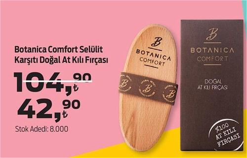 Botanica Comfort Selülit Karşıtı Doğal At Kılı Fırçası image