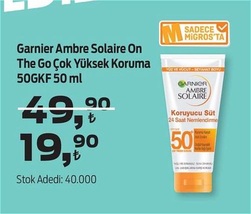 Garnier Ambre Solaire On The Go Çok Yüksek Koruma 50GKF 50 ml image