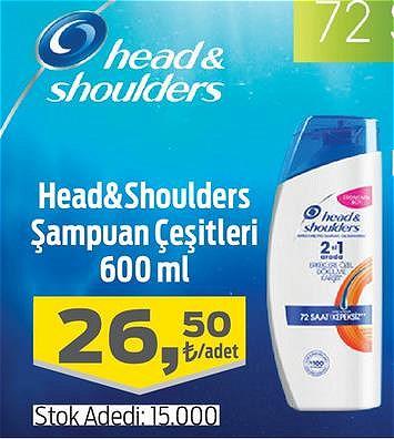Head&Shoulders Şampuan Çeşitleri 600 ml image