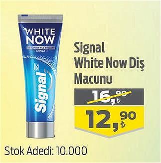 Signal White Now Diş Macunu image