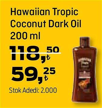 Hawaiian Tropic Coconut Dark Oil 200 ml image