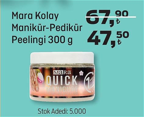 Mara Kolay Manikür-Pedikür Peelingi 300 g image