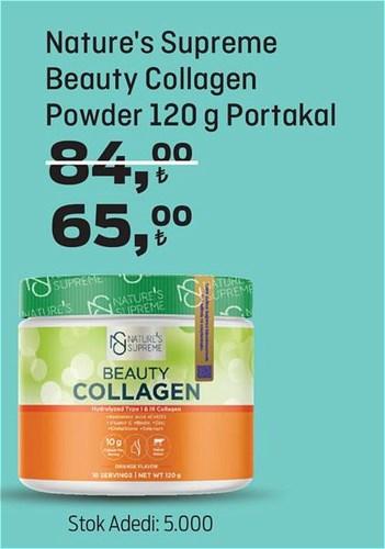 Nature's Supreme Beauty Collagen Powder 120 g Portakal image