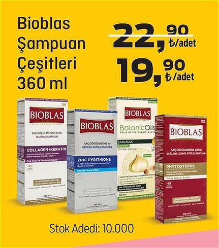 Bioblas Şampuan Çeşitleri 360 ml image