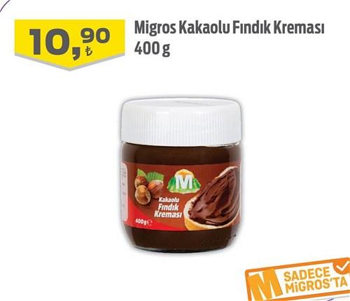 Migros Kakaolu Fındık Kreması 400 g image