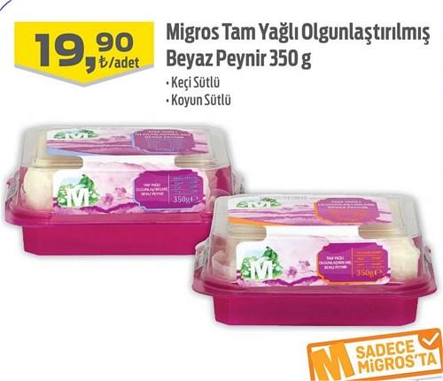 Migros Tam Yağlı Olgunlaştırılmış Beyaz Peynir 350 g image