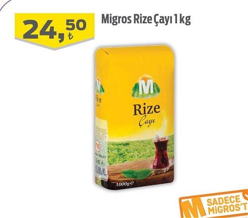 Migros Rize Çayı 1 kg image