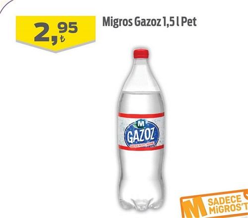 Migros Gazoz 1,5 l Pet image