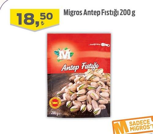 Migros Antep Fıstığı 200 g image