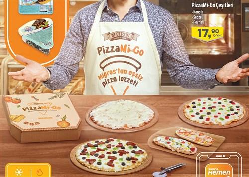 PizzaMi-Go  Çeşitleri image