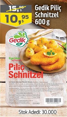 Gedik Piliç Schnitzel 600 g image