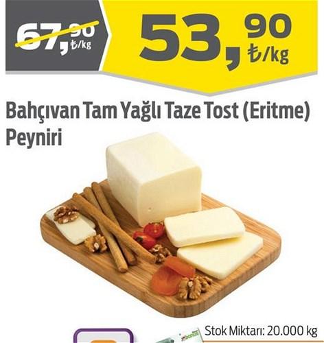 Bahçıvan Tam Yağlı Taze Tost (Eritme) Peyniri Kg image