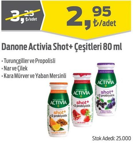 Danone Activia Shot+ Çeşitleri 80 ml image