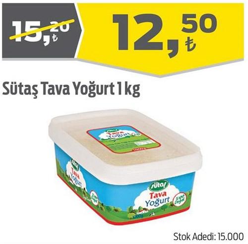 Sütaş Tava Yoğurt 1 kg image