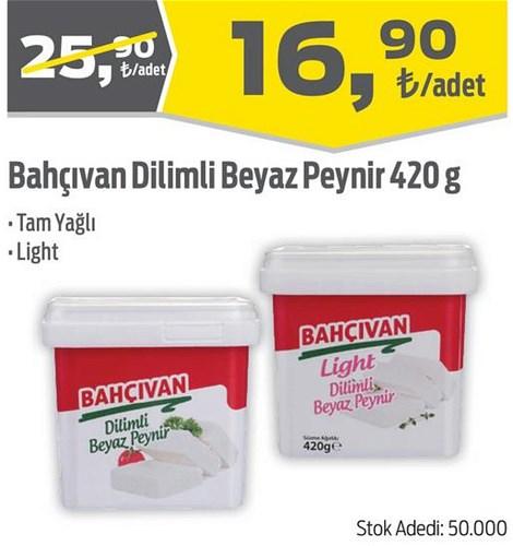 Bahçıvan Dilimli Beyaz peynir 420 g image
