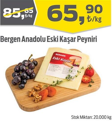 Bergen Anadolu Eski Kaşar Peyniri Kg image