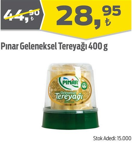 Pınar Geleneksel Tereyağı 400 g image