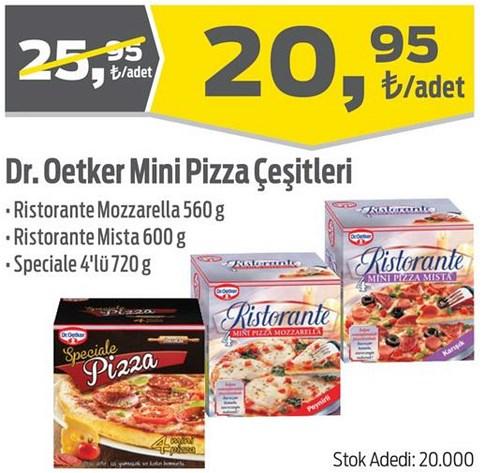 Dr. Oetker Mini Pizza Çeşitleri image