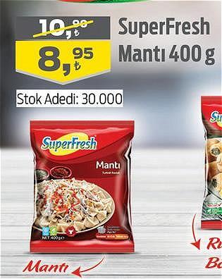 SuperFresh Mantı 400 g image