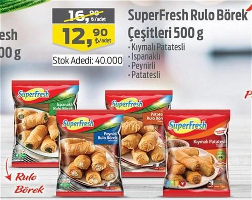 SuperFresh Rulo Börek Çeşitleri 500 g image