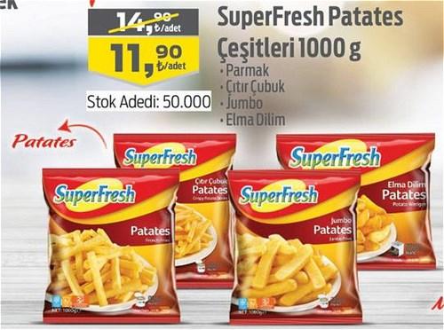 SuperFresh Patates Çeşitleri 1000 g image