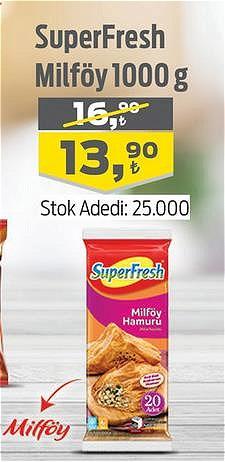 SuperFresh Milföy 1000 g image