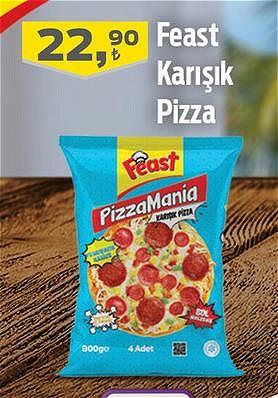 Feast Karışık Pizza image