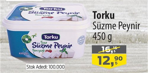 Torku Süzme Peynir 450 g image