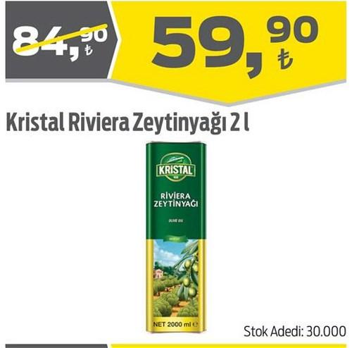 Kristal Riviera Zeytinyağı 2 l image