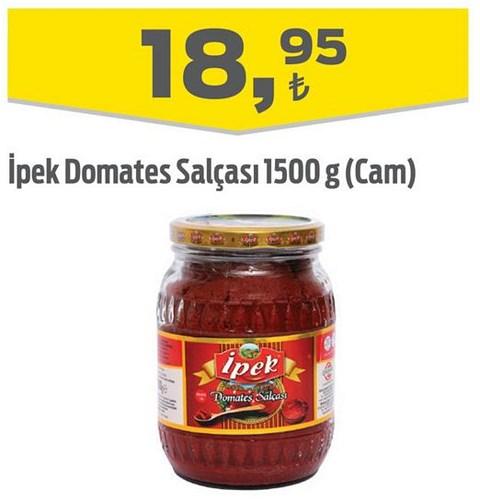 İpek Domates Salçası 1500 g (Cam) image