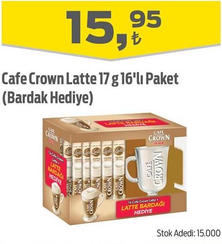 Cafe Crown Latte 17 g 16'lı Paket (Bardak Hediye) image