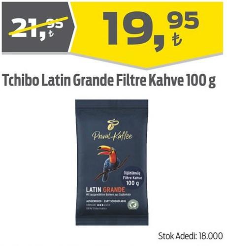 Tchibo Latin Grande Filtre Kahve 100 g image