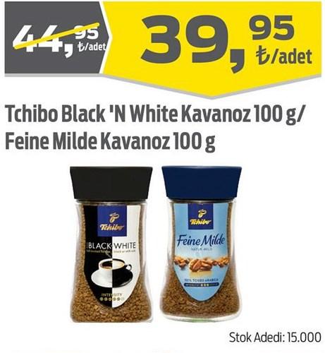 Tchibo Black'N White Kavanoz 100 g/Feine Milde Kavanoz 100 g image