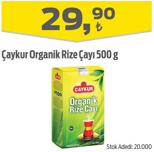 Çaykur Organik Rize Çayı 500 g image