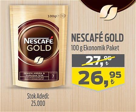 Nescafe Gold 100 g Ekonomik Paket  image