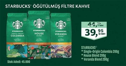 Starbucks Öğütülmüş Filtre Kahve Adet image