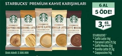Starbucks Premium Kahve Karışımları Adet image