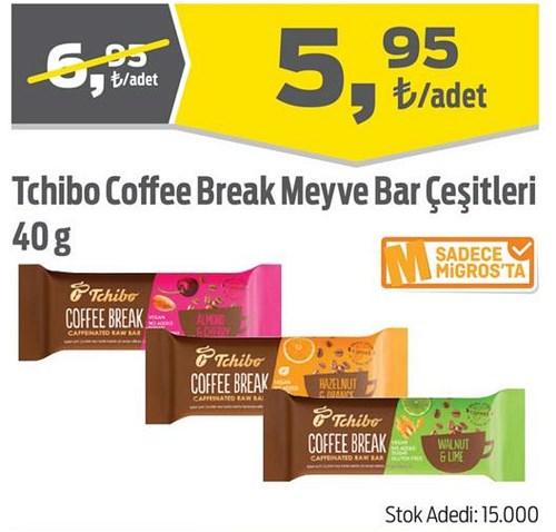 Tchibo Coffee Break Meyve Bar Çeşitleri 40 g image