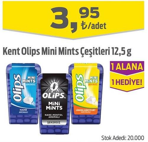 Kent Olips Mini Mints Çeşitleri 12,5 g image