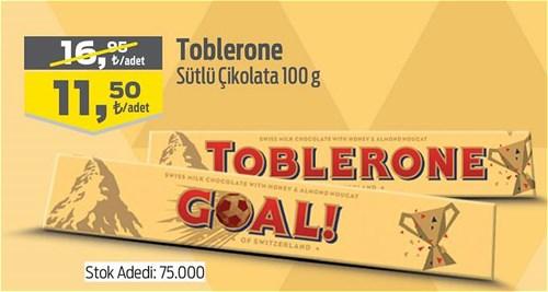 Toblerone Sütlü Çikolata 100 g image
