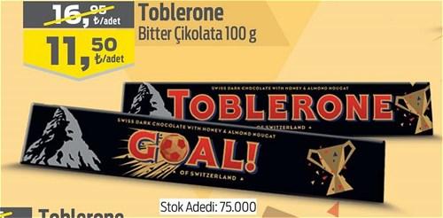 Toblerone Bitter Çikolata 100 g image