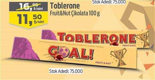 Toblerone Fruit&Nut Çikolata 100 g image