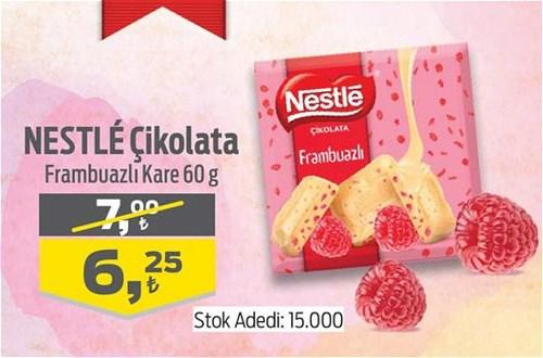 Nestle Çikolata Frambuazlı Kare 60 g image